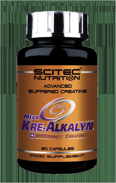SCITEC NUTRITION Mega Kre-Alkalyn 80 Kapseln