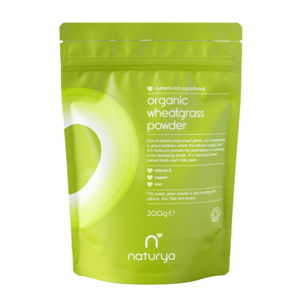 NATURYA SUPERFOODS - WHEATGRASS POWDER (200G)