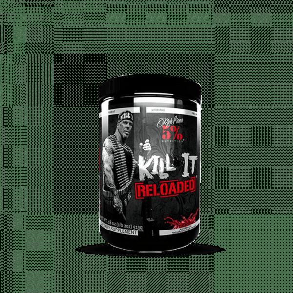 5% Nutrition Kill It Reloaded, 513g Trainings Booster