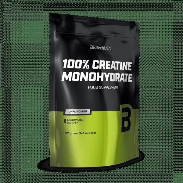BIOTECHUSA 100% Creatine Monohydrate Neutral Neu 500g