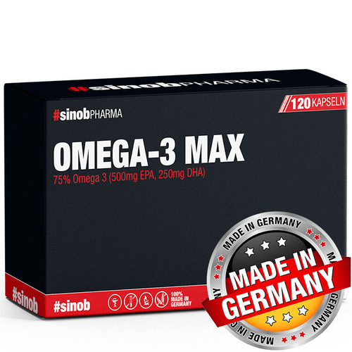 Sinob Omega 3 MAX, 120 Kapseln