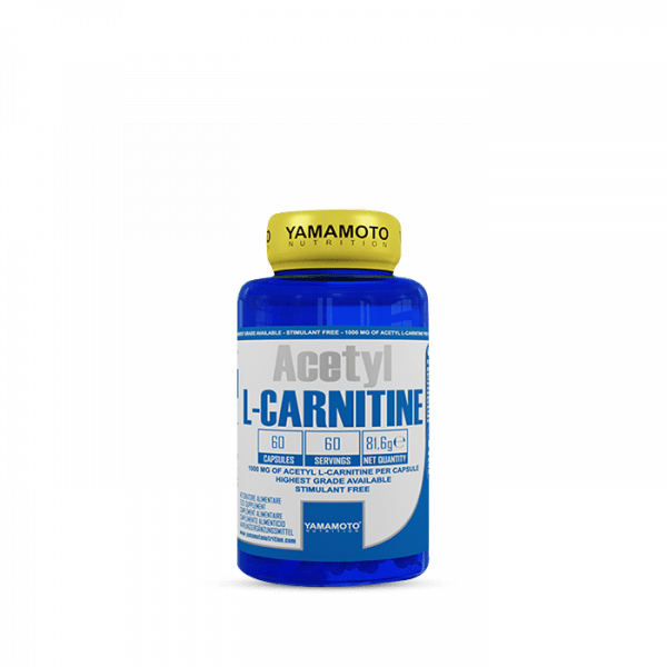 YAMAMOTO ACETYL L-CARNITINE 1000MG 60 Kapseln