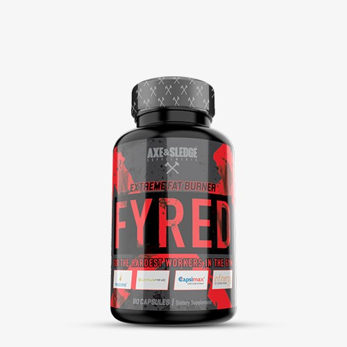 Axe & Sledge Supplements Fyred 60 caps