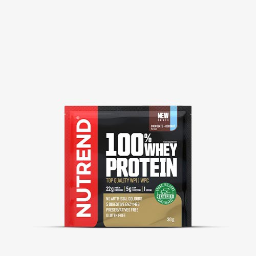NUTREND 100% Whey Protein Promo Sample 2 x 30g