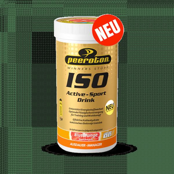 PEEROTON ISO ACTIVE- SPORT DRINK, 300G, BLUTORANGE