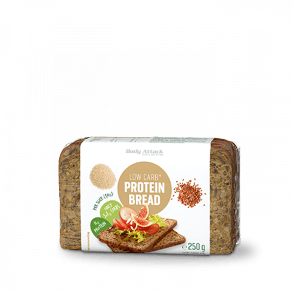 BODY ATTACK Low-Carb Protein-Bread, 250g Food