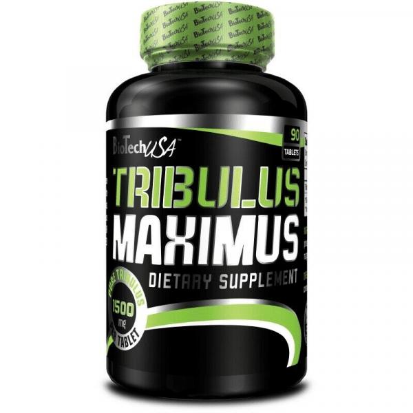 BioTechUSA Tribulus Maximus 1500 mg, 90 Tabletten TST Booster