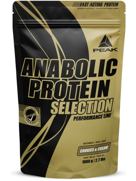 PEAK Anabolic Protein Selection 1000g Proteine