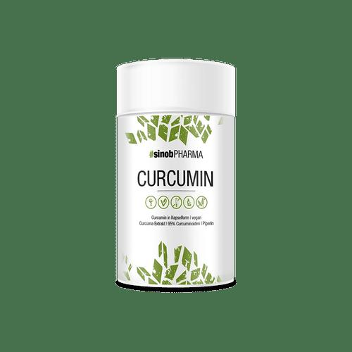 SINOB Curcumin 95%, 60 Kaps, 95% Curcuminoide Health Produkte