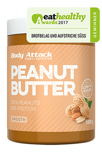 Body Attack Peanut Butter smooth, 1000g