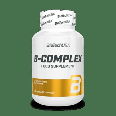 BioTechUSA B-Complex, 60 Tabletten Vitamine und Mineralien