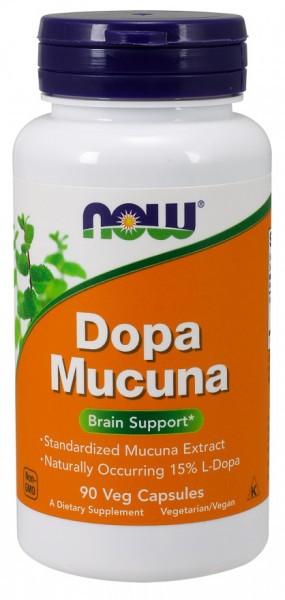 Now Foods - Dopa Mucuna 90 Kapseln