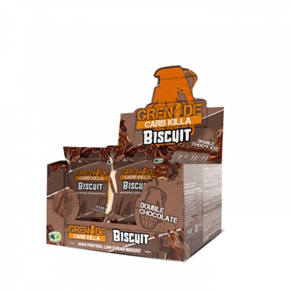 Grenade Carb Killa Biscuit, 12 x 50g Bars und Snacks