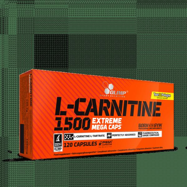 OLIMP L-Carnitine 1500 Extreme Mega Caps® 120 Kapseln