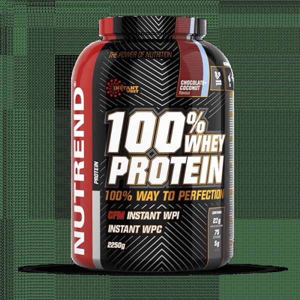 NUTREND 100% WHEY PROTEIN 2250g Proteine