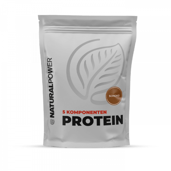 NATURAL POWER 5 Komponenten Protein, 1000g