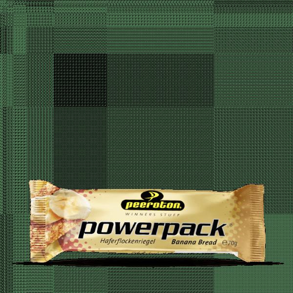Peeroton Powerpack Riegel, 15 x 70g, Banana Bread