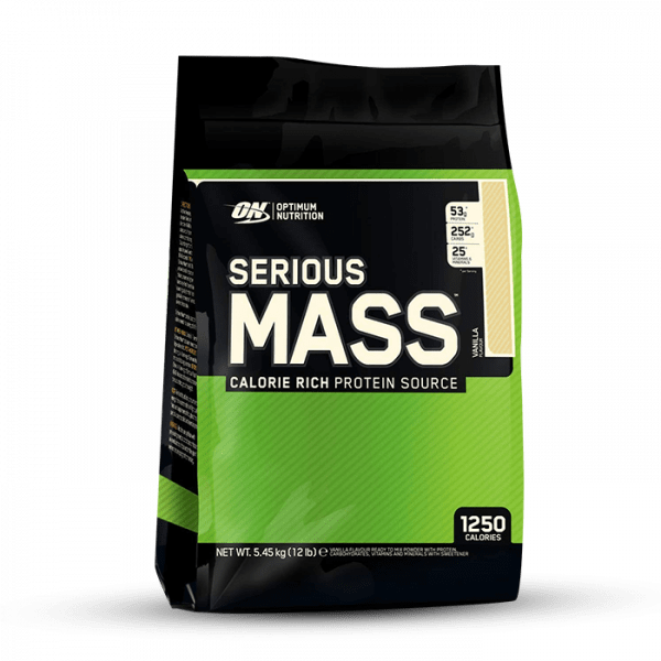 Optimum Nutrition Serious Mass 5454g Gainers/Kohlenhydrate