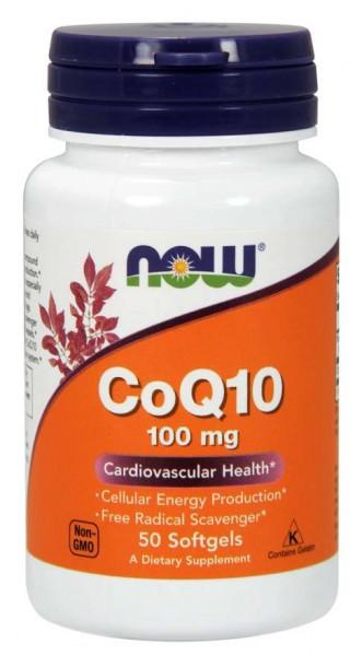 Now Foods - CoQ10 100mg (50) Standard