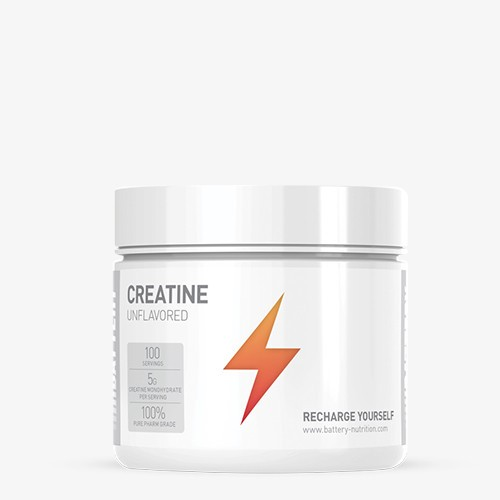 BATTERY CREATINE, 500g, Unflavored Kreatin