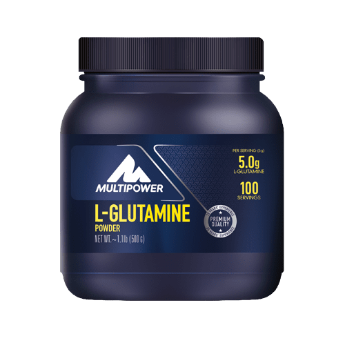 MULTIPOWER L-Glutamin powder 500g neutral - MHD 30.04.2021