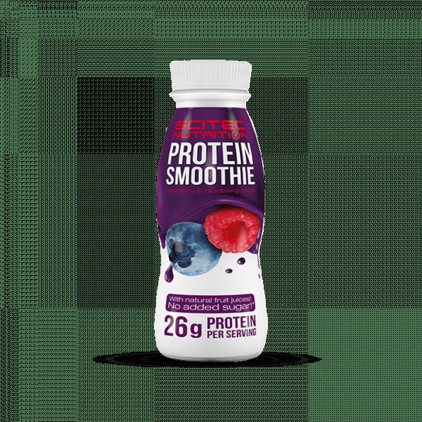 Scitec Protein Smoothie 8x330ml - Heidelbeere-Himbeere - MHD 25.08.2020