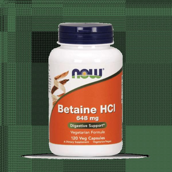 Now Foods - Betaine HCI (120) Standard Health Produkte