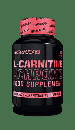BioTechUSA L-Carnitine + Chrome, 60 Kapseln Diät Produkte