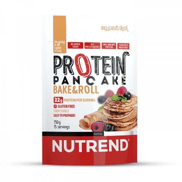 NUTREND PROTEIN PANCAKE, 750g, without flavour Food