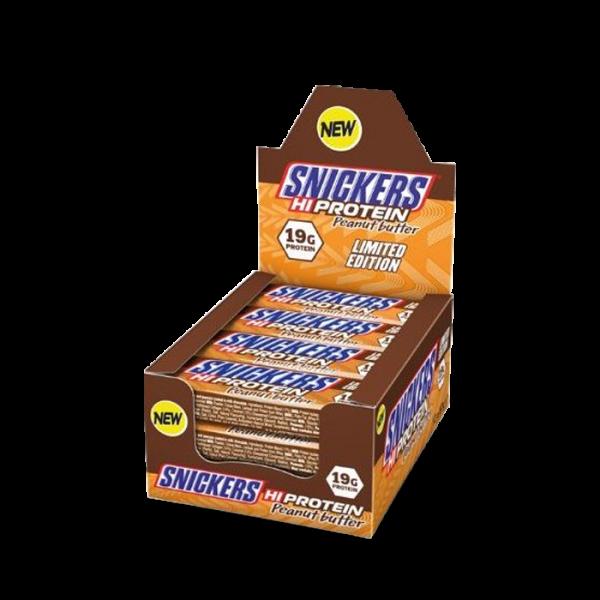 MARS PROTEIN - Snickers High Protein Bar 12x57g - Peanut Butter Bars und Snacks