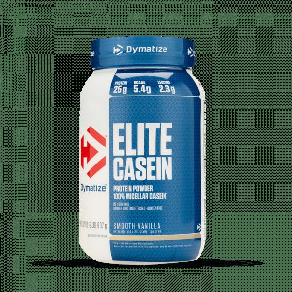 Dymatize - Elite Casein, 908 g - Smooth Vanilla