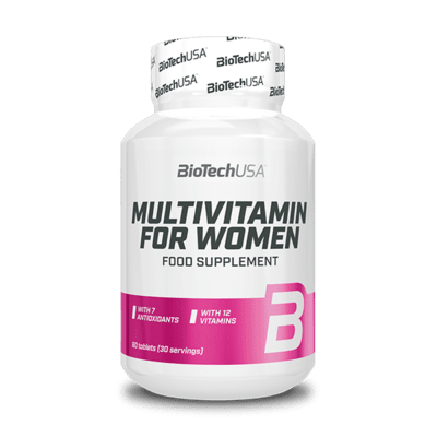BioTechUSA Multivitamin for Women, 60 Tabletten