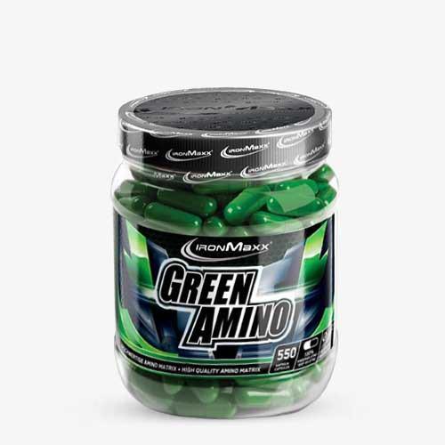 IRONMAXX Green Aminos 550 Kapseln