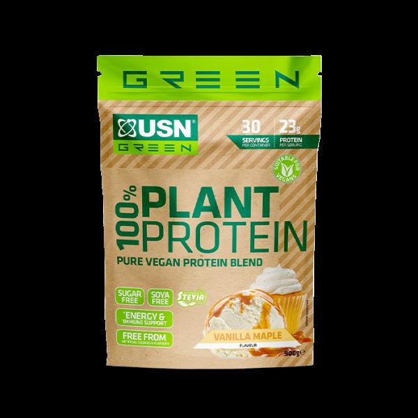 USN 100% PLANT PROTEIN, 900g
