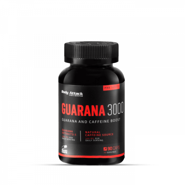 Body Attack Guarana 3000, 90 Kapseln Health Produkte