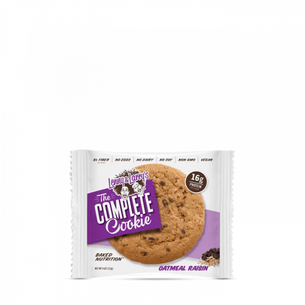 Lenny & Larry's Complete Cookie (VEGAN), 12 x 113g - Oatmeal Raisin - MHD 15.04.2020
