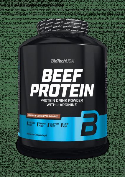 BioTechUSA Beef Protein, 1816g, Vanille-Zimt Proteine