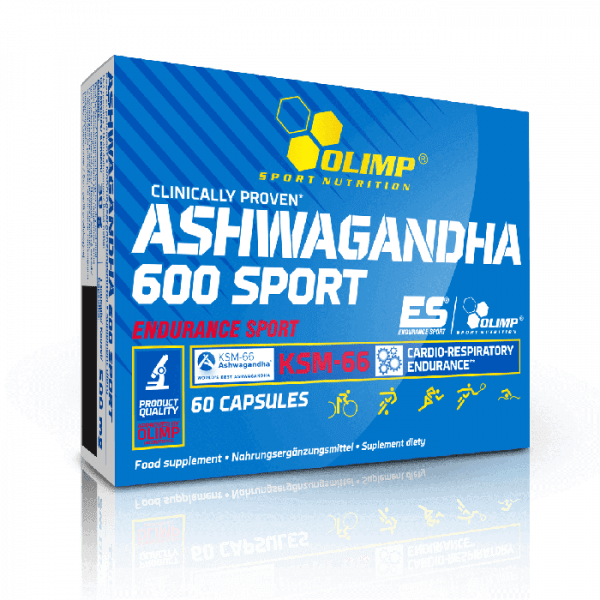 OLIMP Ashwagandha 600 Sport, 60 Kapseln