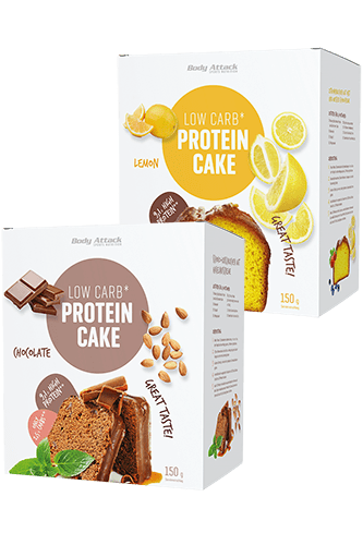 Body Attack Low-Carb Protein-Cake, 150g Food