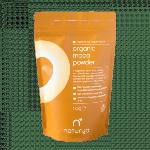Naturya Superfoods - Maca Powder (125g) - MHD 01.02.2020 Health Produkte