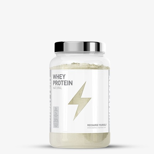 BATTERY WHEY PROTEIN NATURAL 800g Proteine