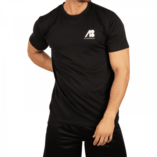 ATOMBODY T-Shirt MUST HAVE, men, S, black Sportbekleidung