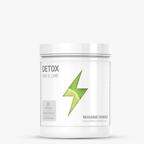 BATTERY DETOX 220g Health Produkte - Kiwi - Lime - MHD 30.04.2021