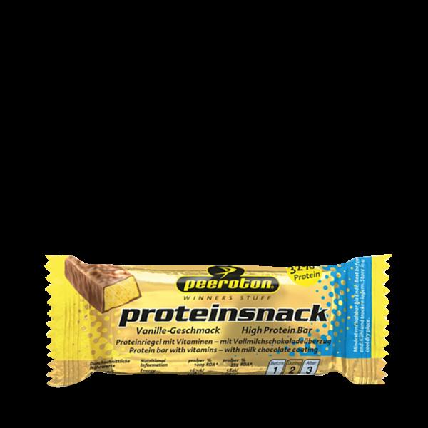 Peeroton Proteinsnack Riegel, 24 x 35g, Vanille