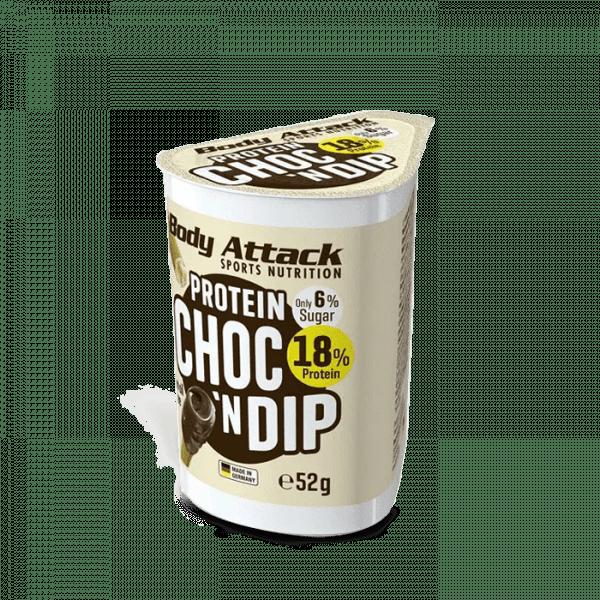 Body Attack Protein Choc'n Dip 12 x 52 g Bars und Snacks