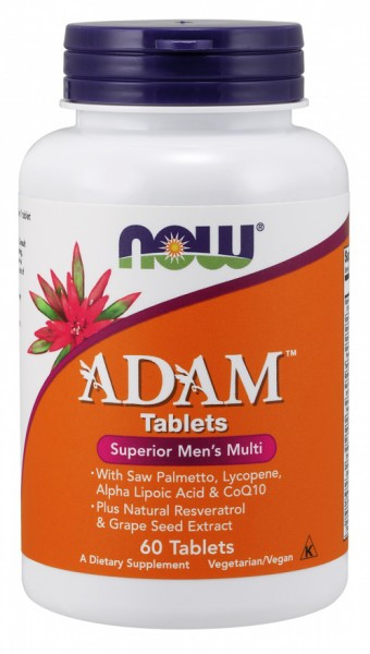 Now Foods - Adam Multi-Vitamin for Men 60 Tabletten
