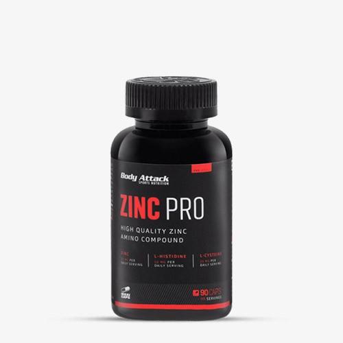 BODY ATTACK Zinc Pro 90 Kapseln Vitamine und Mineralien