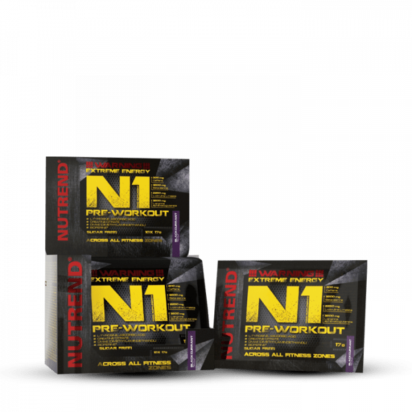 NUTREND N1, 10 x 17g Trainings Booster