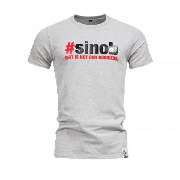 Sinob T-Shirt longer fit, Grau Sportbekleidung