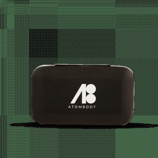 ATOMBODY Pill BOX, black Trainingszubehör